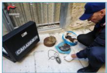 Trani – Sequestro tritolo: sventato grave attentato. Conferenza in procura