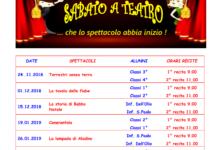 """Trani – Scuola De Amicis: al via il progetto """"Sabato a teatro"""""""