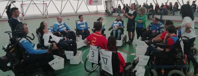 Puglia pioniera del Powerchair Football : a Bari il battesimo del calcio in carrozzina elettrica