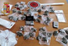 Barletta – Custodiva 40 dosi di marijuana: arrestato 36enne