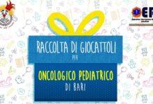 Trani – Raccolta Giochi: l'8 dicembre tutti uniti per l'oncologia pediatria di Bari