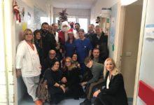 DifendiAMO Bisceglie porta doni al reparto pediatria dell'Ospedale di Bisceglie