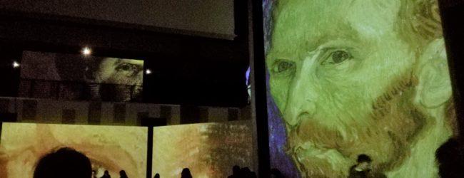 """Bari – """"Van Gogh Alive"""": multimedialità e sensorialità nel nuovo concetto museale. FOTOGALLERY"""