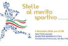 Bari – Gran Galà del Coni: il 4 dicembre si festeggia lo sport pugliese