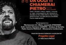"""Barletta – L' attore Pietro Sarubbi con """"Seguimi"""" al cinema Paollilo per sostenere il progetto """"Legal"""""""