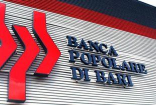 Banca Popolare di Bari, commissariata da Bankitalia per perdite