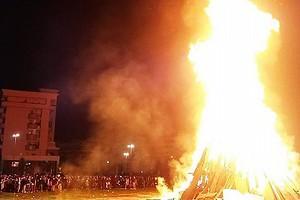 Barletta – Falò dell'Immacolata, si farà stasera sull' area pubblica a ridosso della Santissima Trinità