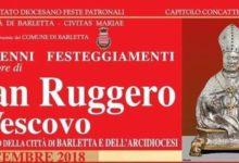 Barletta – Festeggiamenti patrono San Ruggero vescovo. Il programma