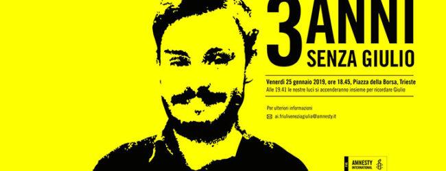 Giulio Regeni – Tre anni senza verità