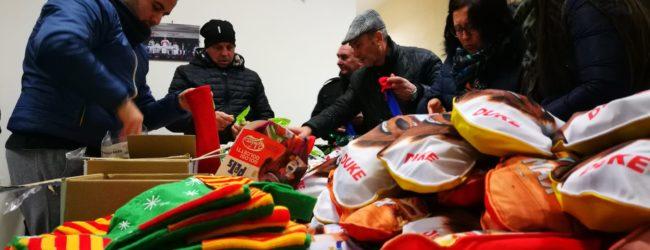 Andria – Gran Galà dell'Epifania: 450 calze della Befana donate ai bambini andriesi meno fortunati. FOTO e VIDEO