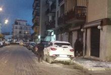 Trani imbiancata dalla neve. Le FOTO