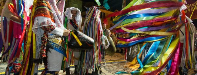 Bari – BIBART accoglie il carnevale con le Maschere Antropologiche di Tricarico