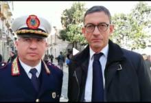 """Trani – Festa San Sebastiano, comandante Cuocci: """"Il 2018 un anno positivo"""""""