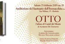 """Barletta – Presentazione del romanzo """"Otto. L'abisso di Castel del Monte"""""""
