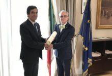 BAT – Prefettura, onorificenza al biscegliese Sergio Caggianelli