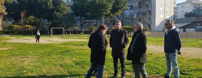 """Barletta – Parco in via Dante Alighieri, Cianci: """"Restituiremo questo verde a tutti i barlettani"""""""