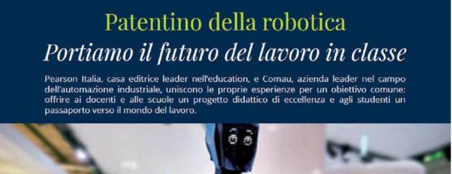 Trani – Patentino della Robotica al Vecchi: il futuro in classe