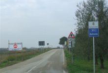 Barletta – Maltempo, interrotta e chiusa al traffico strada delleSalinelle