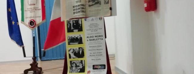 """Convegno """"Aldo Moro e Barletta: una lunga storia d'amore e di cultura"""". Foto e Video"""