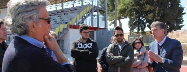 """Barletta – Stadio """"Puttilli"""", un sopralluogo del Sindaco"""