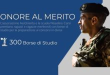 """Barletta – """"Onore al Merito"""": l'iniziativa che eroga 300 borse di studio per i giovani tra i 17 e i 22 anni"""