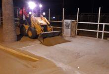 """Barletta – Bar.S.A., sabbia sulla strada lungo le litoranee, """"stiamo lavorando per la rimozione"""""""