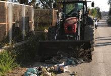 Barletta – Bar.S.A., rimossi cumuli di spazzatura in via Vecchia per Canosa