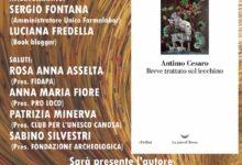 """Canosa di Puglia – Incontro culturale sul libro: """"Breve trattato sul lecchino"""""""