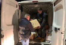 Finanzieri di Trani recuperano furgone con 50 mila euro di dispositivi elettronici
