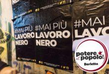 """""""Mai più lavoro nero"""" la delibera 100 di Napoli inizia il suo percorso amministrativo anche a Barletta"""