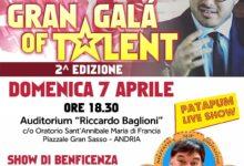 Andria – Tutto pronto per il 2° Gran Galà of Talent