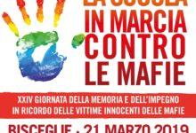 Bisceglie – Domani 1.500 studenti in marcia e concerto per ricordare le vittime innocenti di mafia