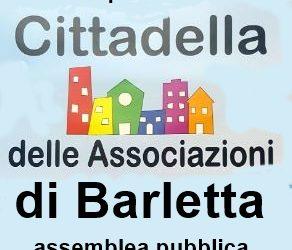 """Barletta – """"La cittadella delle associazioni"""", appello per un'assemblea pubblica"""
