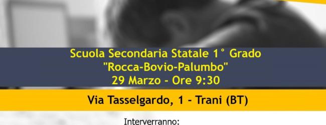 """Trani – M5S,  domani incontro """"Bullismo e Cyberllismo"""""""