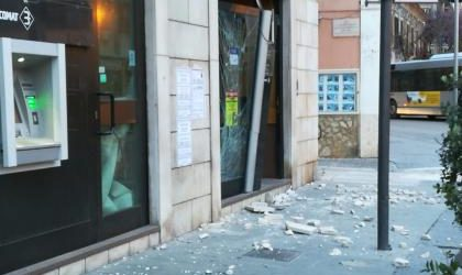 Foggia – Rapina con esplosivo ad un bancomat