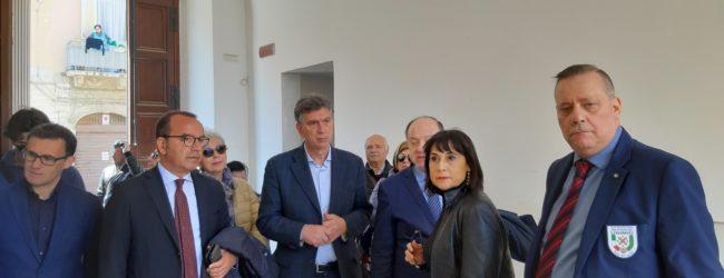 Barletta – Archivio di Stato, la visita del Direttore generale degli archivi Buzzi