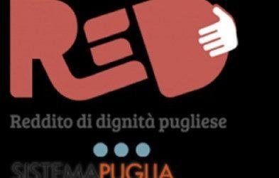 ReD 3.0, riparte la misura di sostegno al reddito della Regione Puglia