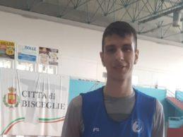 Bisceglie – La Di Pinto Panifici completa il roster col giovane Davide Drigo