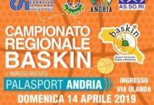 Andria – Domenica al Palasport Torneo Regionale di Baskin