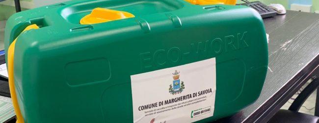 Margherita di Savoia – Al via la distribuzione dei contenitori per lo smaltimento degli oli esausti