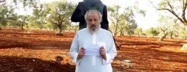 Siria – Libero Sergio Zanotti dopo tre anni di prigionia