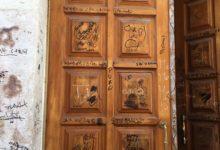 Barletta – Danneggiato ingresso Chiesa dei Greci, l'Amministrazione denuncia l'accaduto