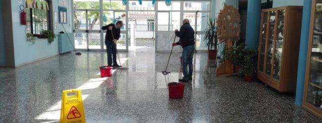 Trani  – AGGIORNAMENTI. Maltempo: allagata la scuola Petronelli. LE FOTO