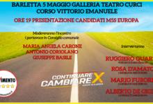 Barletta – Al via la campagna elettorale del M5S in vista delle europee