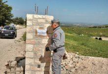 Minervino Murge – Sequestrato muro perimetrale abusivo nel Parco dell'Alta Murgia