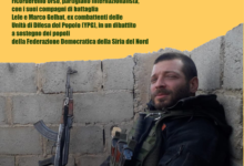 Barletta – Collettivo Exit, serata in ricordo del partigiano internazionalista Lorenzo Orsetti