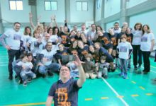 Andria – Coronato il sogno dell'Audax Volley. I festeggiamenti
