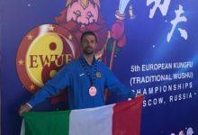 Trani – Antonio Pignataro conquista il bronzo per l'Italia agli europei di Kungfu In Russia.