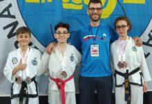 Taekwondo, cinque medaglie in Bosnia per gli atleti della Bat. FOTO