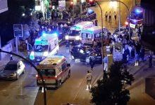 Andria – Incidente stradale in via Trani: sette feriti